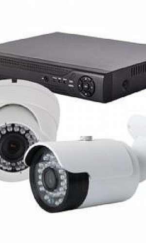 Colocação de câmeras de segurança