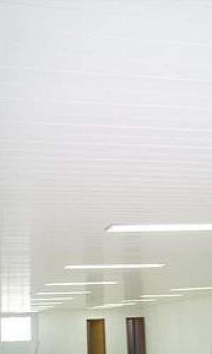 Forro de pvc branco liso preço
