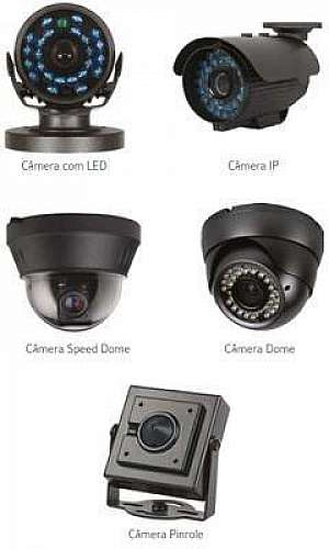 Instalação de câmeras de vídeo monitoramento