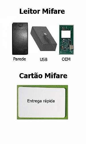 Leitor gravador rfid mifare