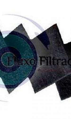 Manta filtrante carvão ativado