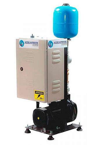 Sistema de pressurização de água residencial