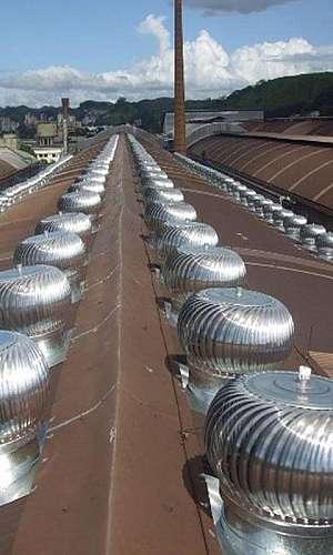 Sistema de ventilação comercial